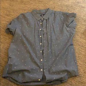 Trendy Button Shirt